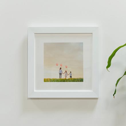 Framed Fine Art Paper
